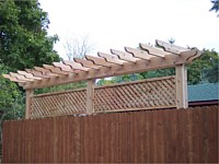 Pergolas, Arbors, and Custom Designs