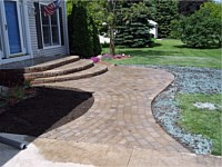 Brick Paver Patios & Walks